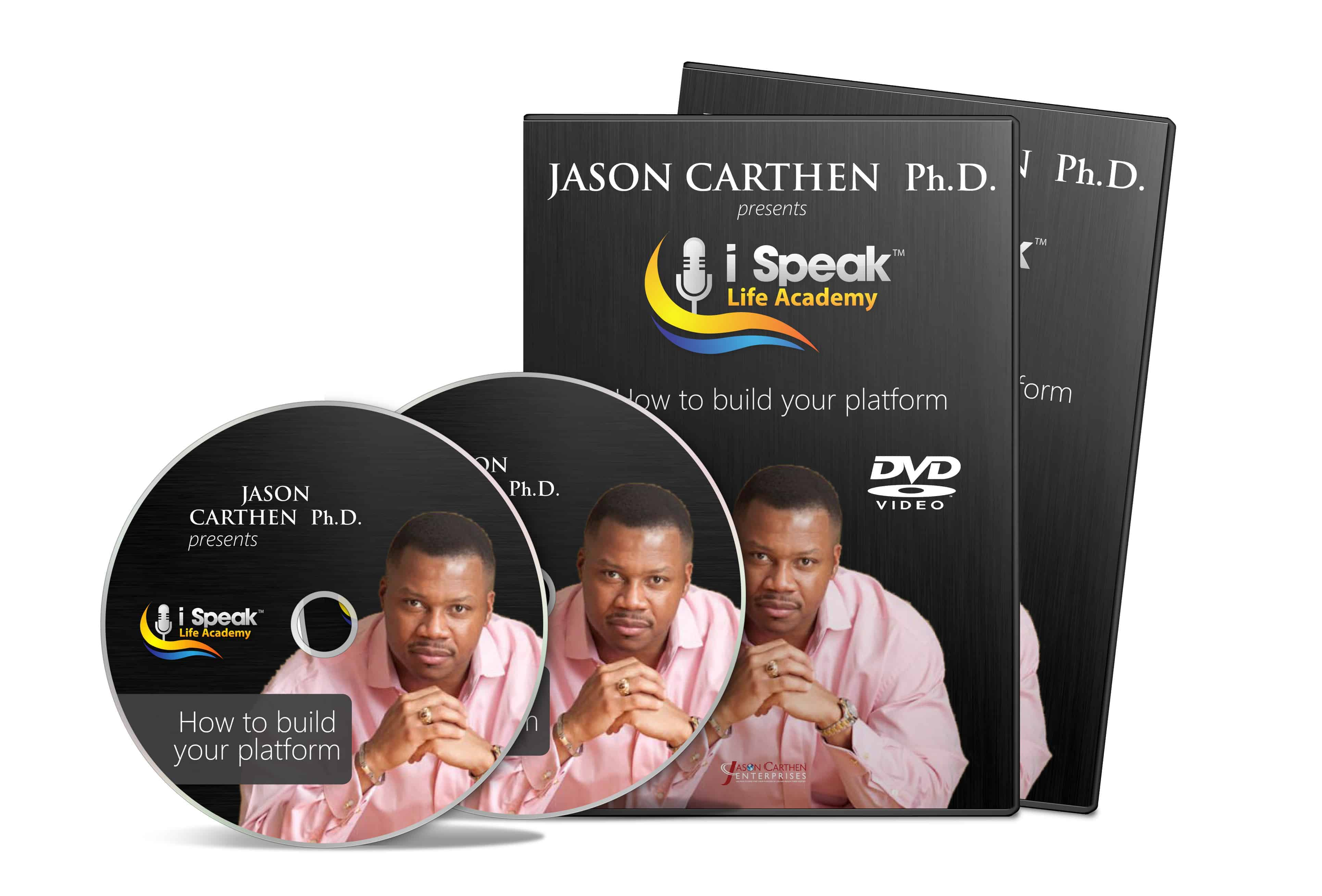 Dr. Jason Carthen: How to Build and Master Your Platform DVD