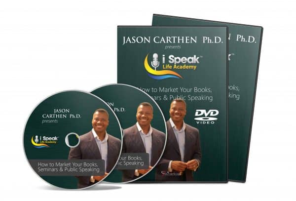 Dr. Jason Carthen: How to Market Your Books and Products DVD