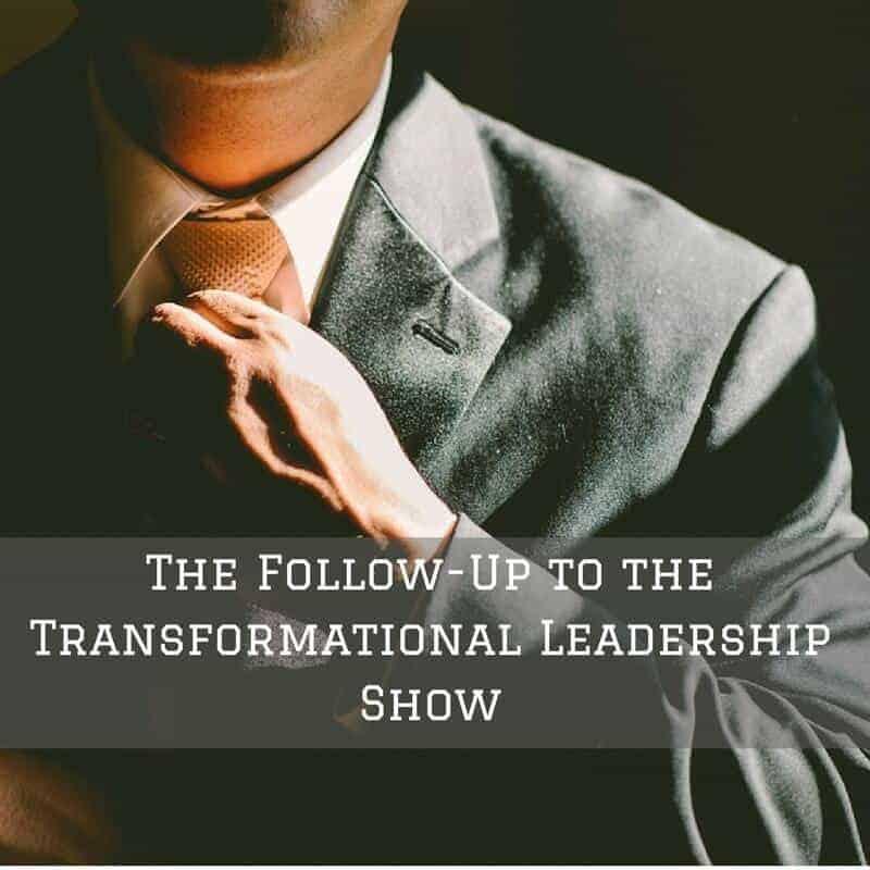 Dr. Jason Carthen: Transformational Leadership Show