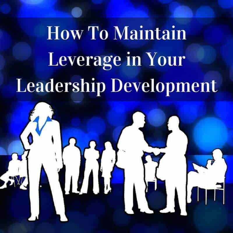 Dr. Jason Carthen: Maintain Leverage in Your Leadership Development