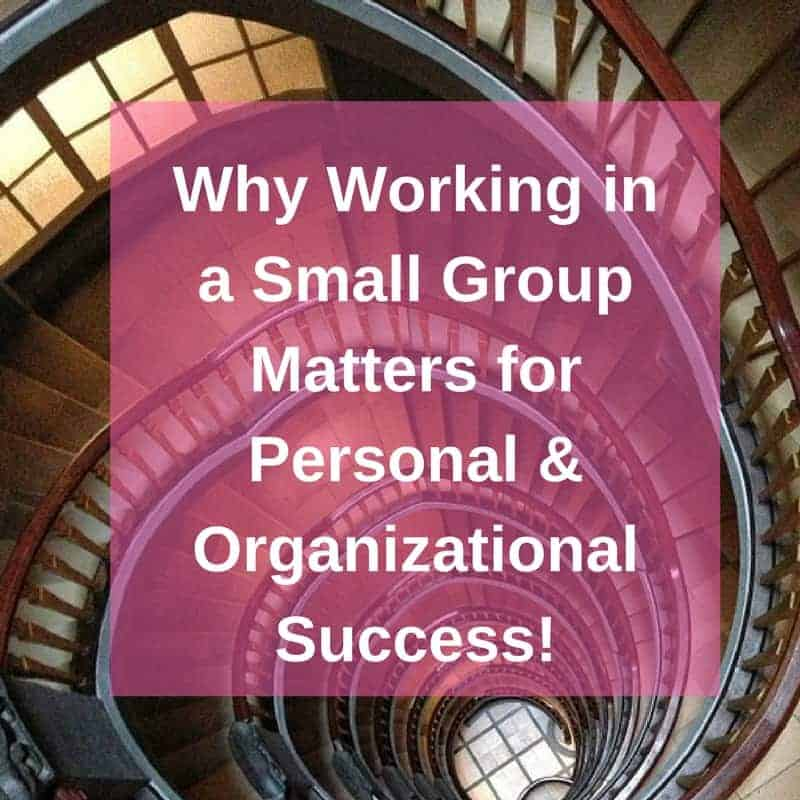 Dr. Jason Carthen: Small Group Matters for Personal & Organizational Success