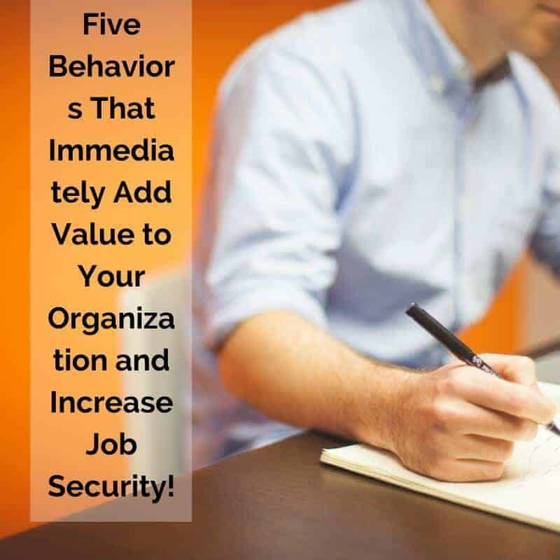 Dr. Jason Carthen: Add Value and Increase Job Security to Your Organization