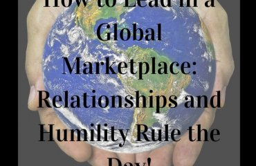 Dr. Jason Carthen: Lead in a Global Marketplace