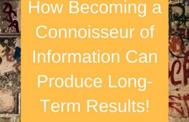 Dr. Jason Carthen: Become a Connoisseur of Information