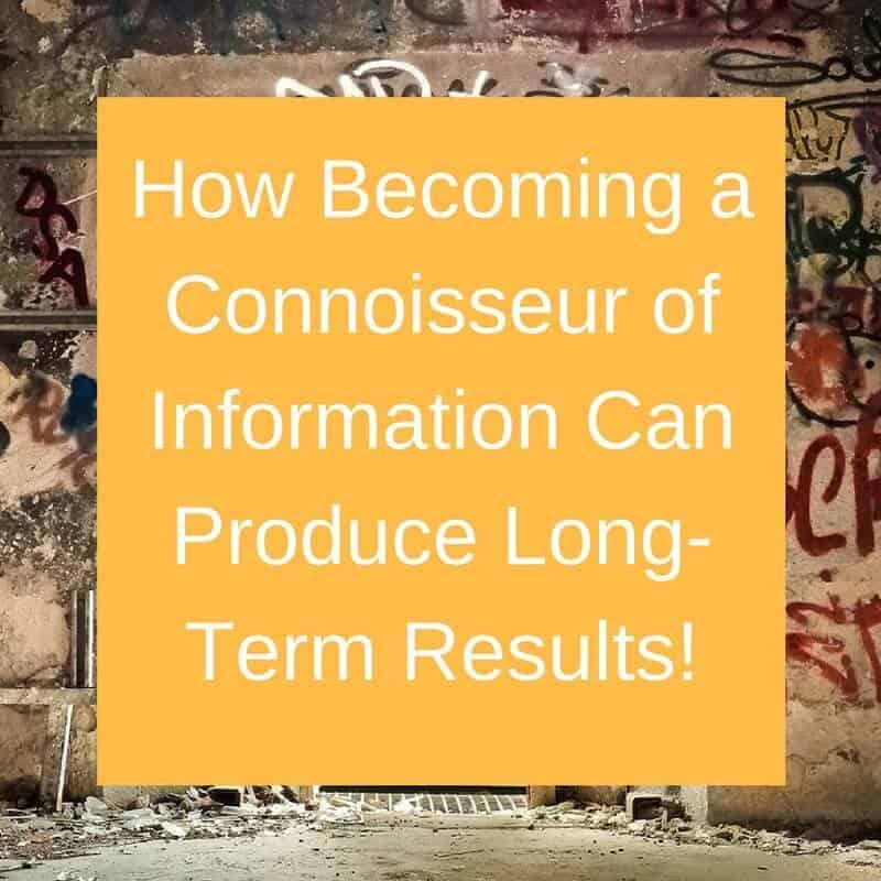 Dr. Jason Carthen: Become a Connoisseur of Information