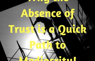 Dr. Jason Carthen: Absence of Trust is a Quick Path to Mediocrity