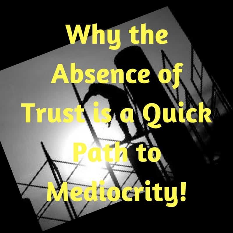 Dr. Jason Carthen: Absence of Trust