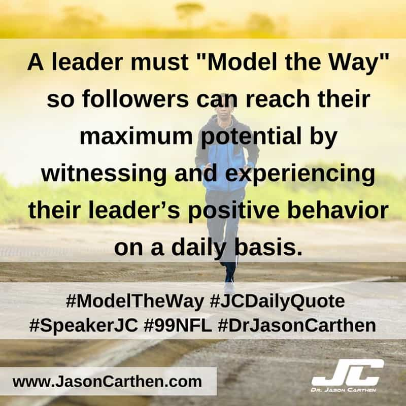 Dr. Jason Carthen: Model The Way