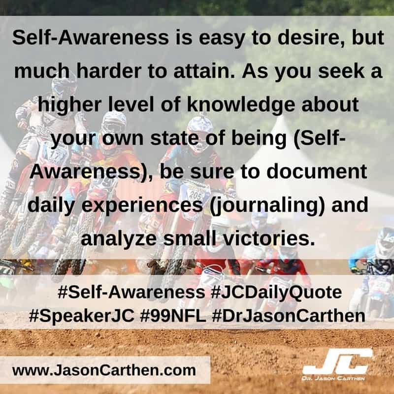 Dr. Jason Carthen: Self-Awareness