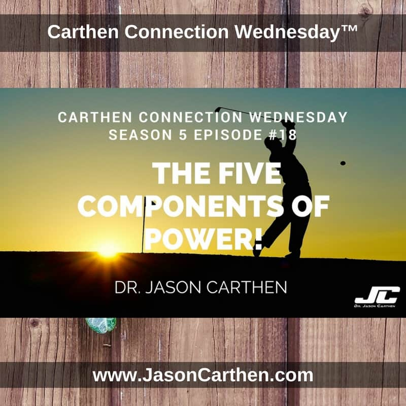 Dr. Jason Carthen: The Five Components of Power