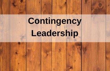 Dr. Jason Carthen: Contingency Leadership