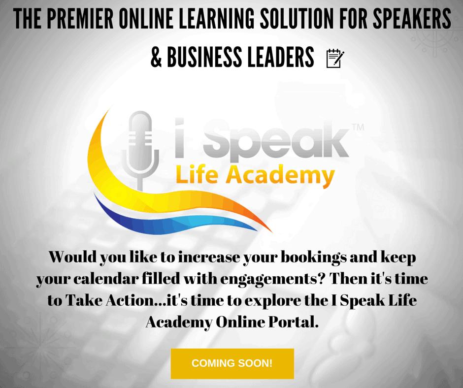 Dr. Jason Carthen: I Speak Life Academy Online Portal:Coming Soon