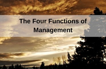 Dr. Jason Carthen: Four Functions of Management