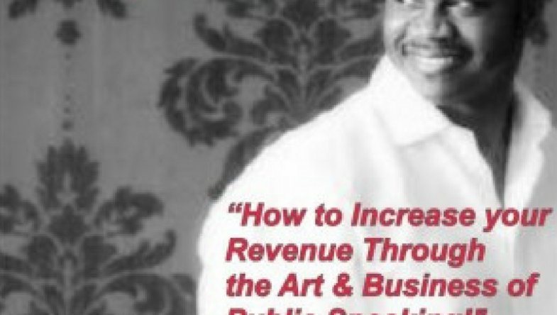 Dr. Jason Carthen: Increase your Revenue Through Business of Public Speaking