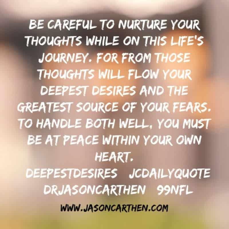 Dr. Jason Carthen Daily Quotes
