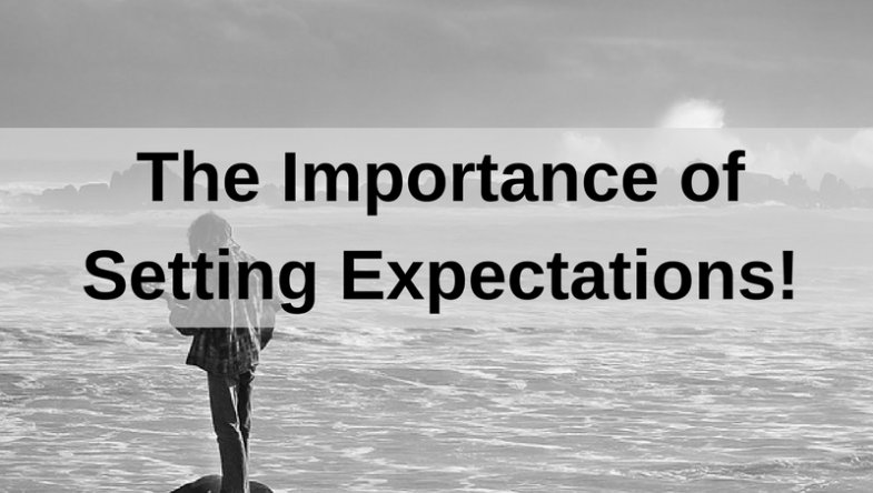 Dr. Jason Carthen: The Importance of Setting Expectations