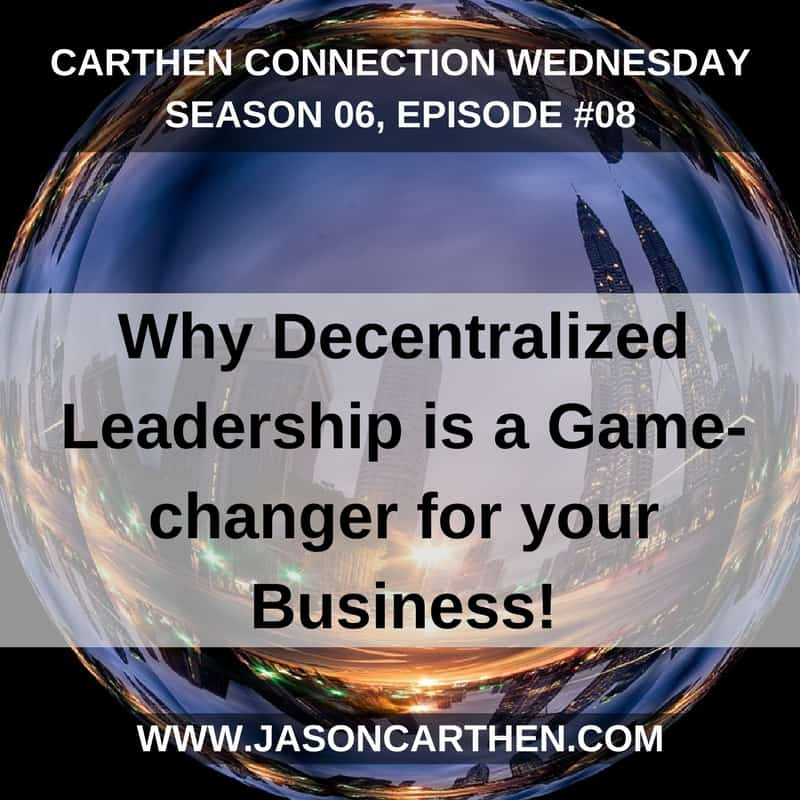 Dr. Jason Carthen: Decentralized Leadership