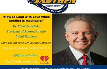 Dr. Jason Carthen: Conflict, Emotional intelligence, Love, Leadership