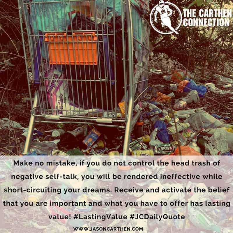 Dr. Jason Carthen: Head Trash