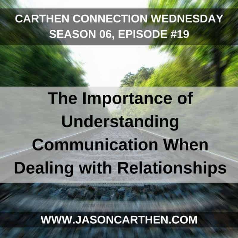 Dr. Jason Carthen: Understanding Communication