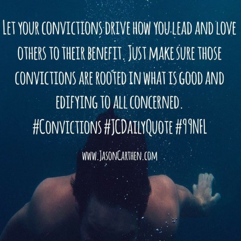 Dr. Jason Carthen: Convictions
