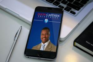 Dr. Jason Carthen: Mobile App Blog page