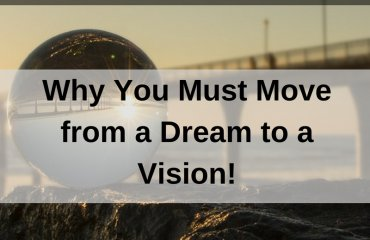 Dr. Jason Carthen: Move from a Dream to a Vision