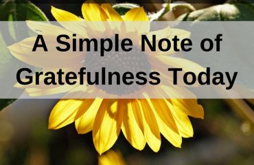 Dr. Jason Carthen: Note of Gratefulness