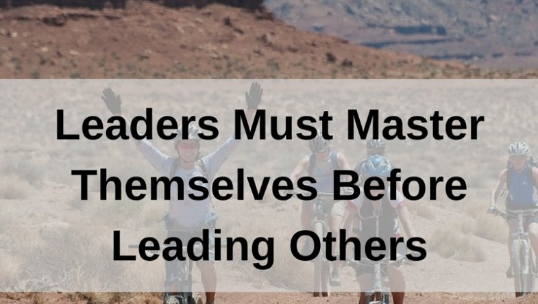 Dr. Jason Carthen: Leaders Must Master Themselves