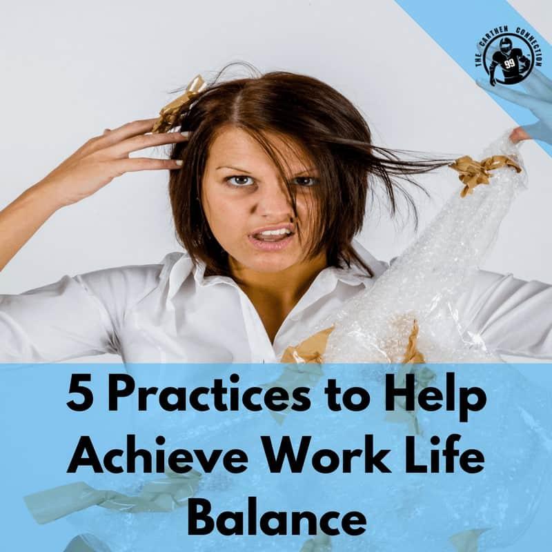 Dr. Jason Carthen: Work Life Balance