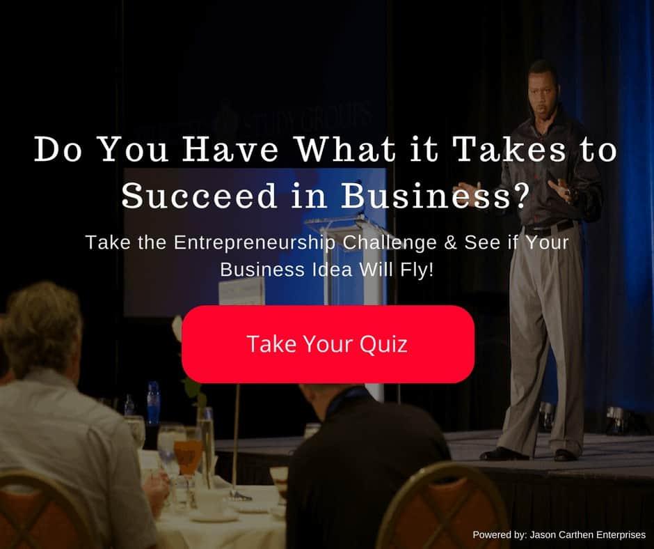 Dr. Jason Carthen: Take the Entrepreneurship Challenge