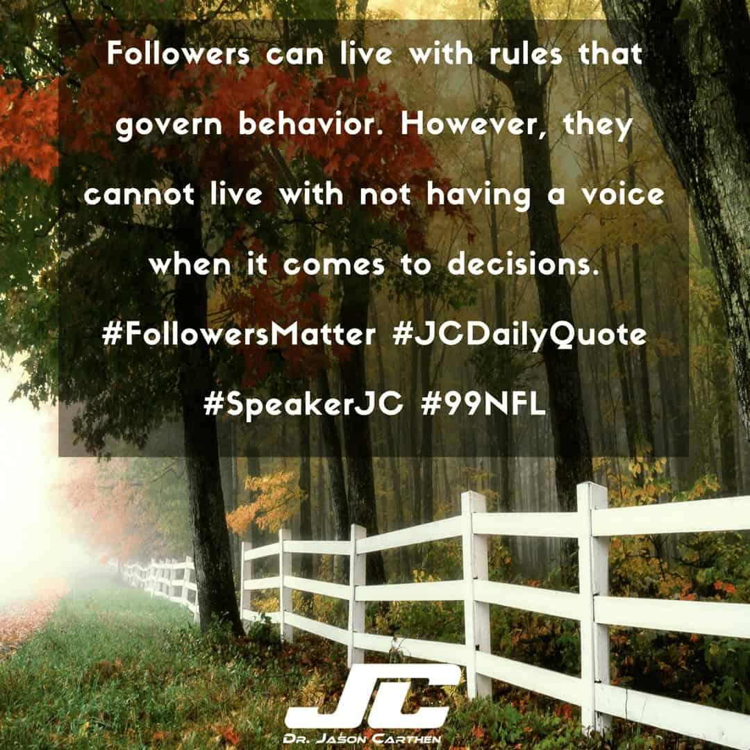 Dr. Jason Carthen: Decisions