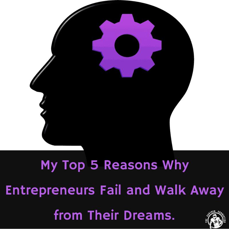 Dr. Jason's Top 5 Reasons Entrepreneurs Fail