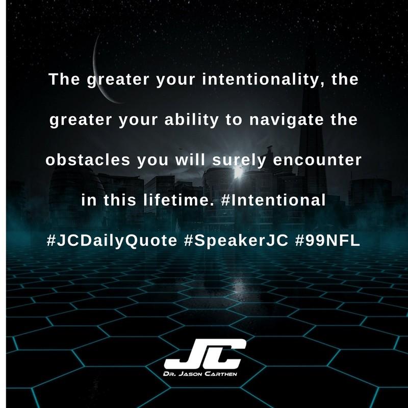 Dr. Jason Carthen: Greater