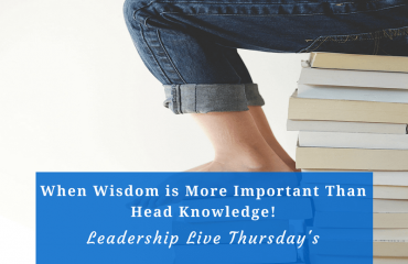 Leadership Live Thursdays-4.27.2017