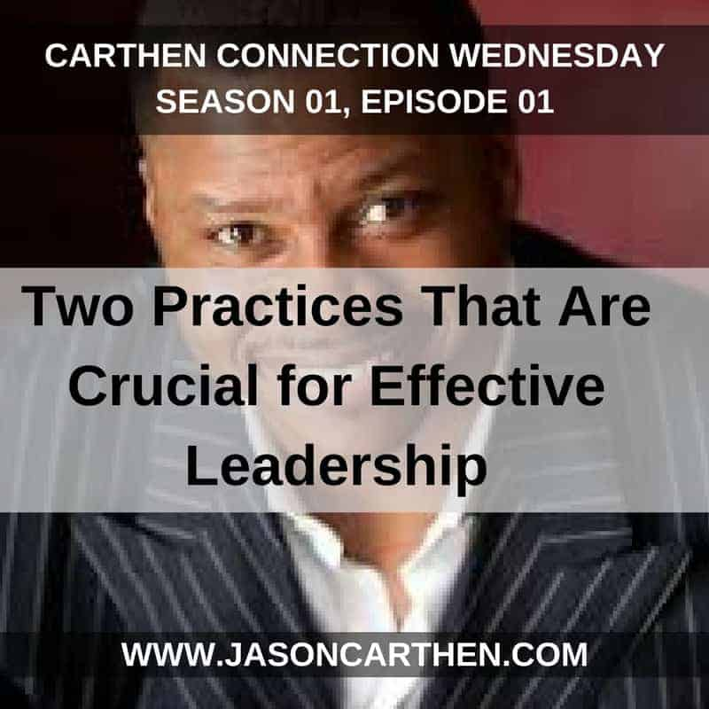 Dr. Jason Carthen: Season_01E01_Leadership_Live_Thursdays