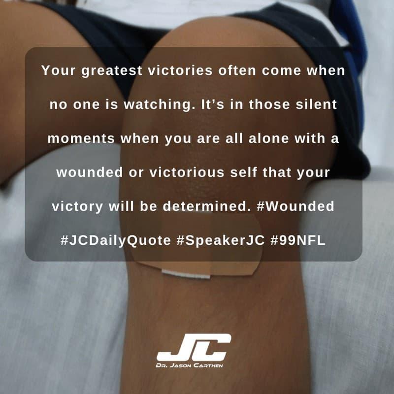 Dr. Jason Carthen: Victories