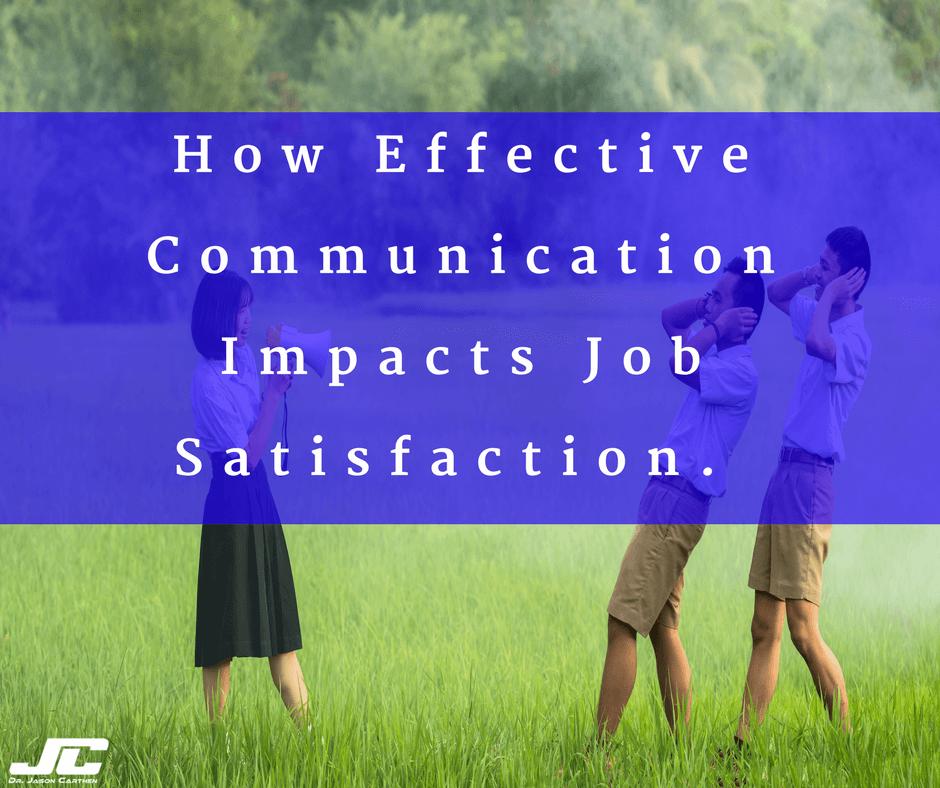Dr. Jason Carthen: Effective Communication
