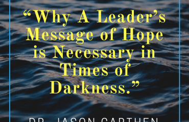 Dr. Jason Carthen: Blog Dark Times