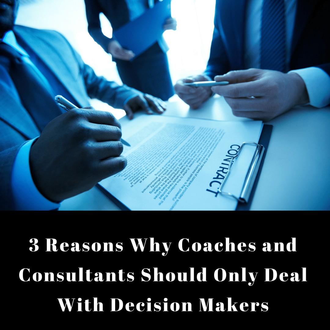 Dr. Jason Carthen: Decision Makers