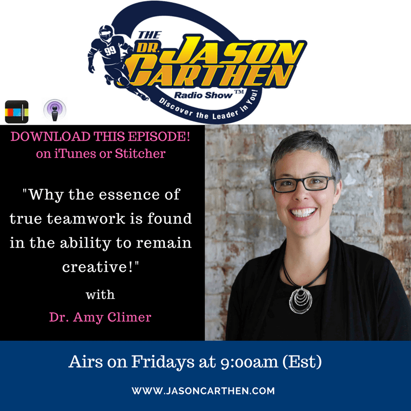 Dr. Jason Carthen: Podcast with Dr. Amy Climer