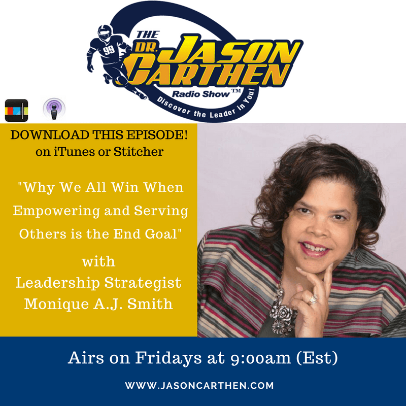 Dr. Jason Carthen: Podcast_Monique A.J. Smith