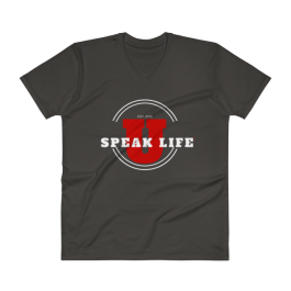 Speak Life University V-Neck T