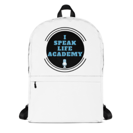 I Speak Life Academy©️ Backpack